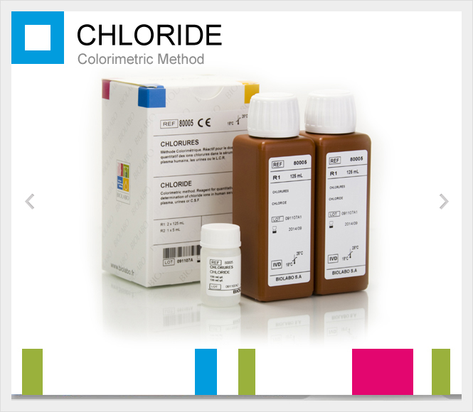 BIOLABO Chloride (Colorimetric method)
