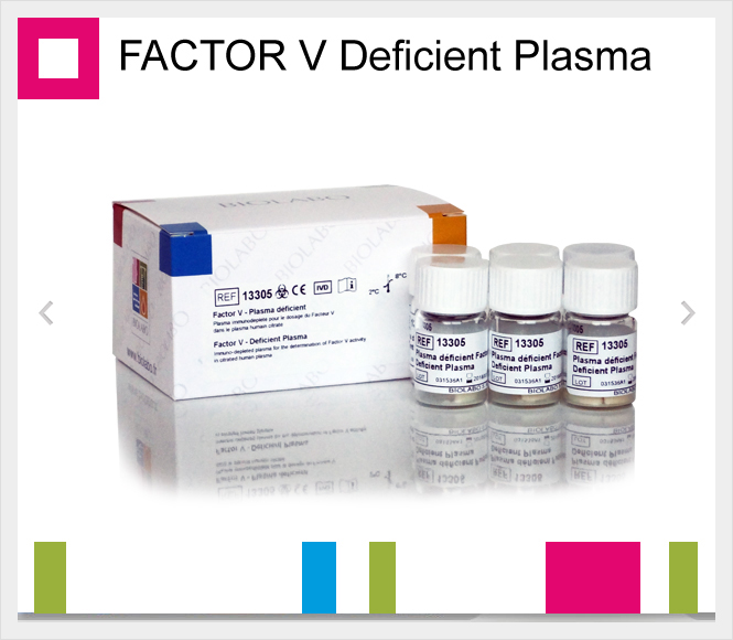 BIOLABO FACTOR V Deficient plasma